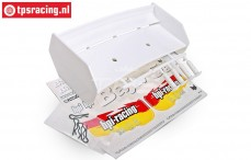 HPI85451 rear Wing White, Set