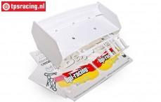 HPI85451 rear Wing White, Set