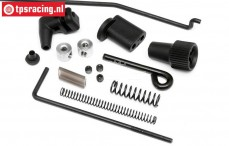 HPI85462 Throttle and brake linkage, Set