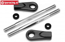 HPI85463 Steering rods, (Ø6-L92 m), Set