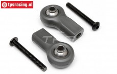 HPI85465 Rear Upper arm Ball end, 2 pcs.