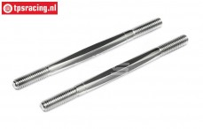 HPI86401 Steering rods Ø6-L92 m, 2 pcs.