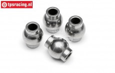 HPI86417 Steel ball joint Ø4-Ø10 mm, 4 pcs.
