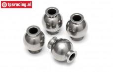 HPI86425 Steel ball joint Ø4-Ø14 mm, 4 pcs.