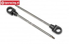 HPI86437 Shock Shaft short L105 mm, 2 pcs.