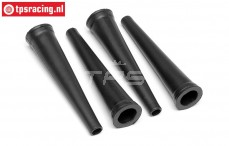 HPI86443 Shock Boots rear, 4 pcs.