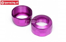 HPI86445 Shock Cap Purple Ø20-12 mm, 2 pcs.