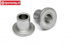 HPI86607 Steel Flanged Collar Ø4-Ø8-L7 mm, 2 pcs.