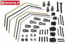 HPI86618 Stabilizer front/rear, Set