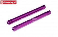 HPI86628 Spoiler joint Purple, 2 pcs.