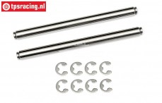 HPI86633 Wishbone pin, (Ø6-L80 mm), 2 pcs.