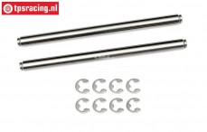 HPI86634 Wishbone pin, (Ø6-L94 mm), 2 pcs.