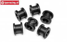 HPI86653 Tank rubber, 6 pcs