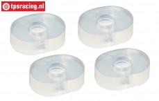 TPS86666 Silicone Gear damper bushing, 4 pcs