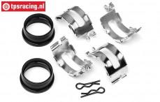 HPI86713 Aluminum HD Tuned Pipe coupling, Set