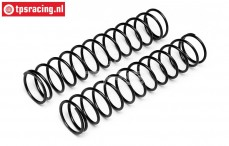 HPI86757 Shock spring front Black, 2 pcs.