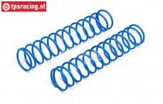 HPI86759 Shock spring front Bleu, 2 st.