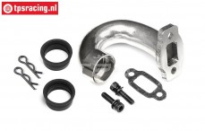 HPI87288 Pipe Manifold HD Steel, 1 pc.