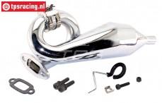 TPS87401 HD Steel Tuning Exhaust HPI-Rovan, Set