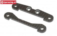 HPI87405 Carbon rear lower brace, set