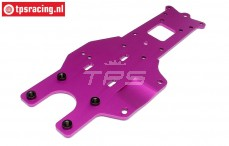 HPI87416 Rear Lower Chassis plate Purple, 1 pc.