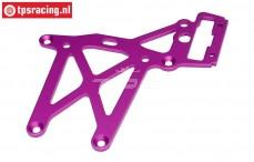 HPI87418 Rear Upper Plate Purple, 1 pc.