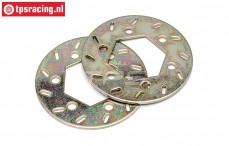 HPI87424 Brakse disk Ø24-Ø52-D1,6 mm, 2 pcs.