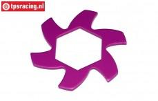HPI87425 Brake disk Cooler Purple, 1 pc.