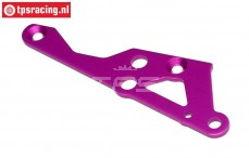 HPI87432 Engine mount brace right Purple, 1 pc.