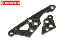 HPI87454 Carbon Engine mount right, Set