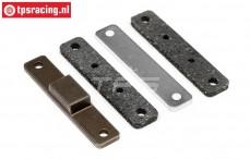 HPI87456 Brake Lining, Set