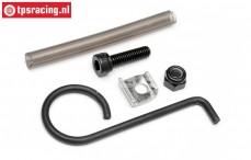HPI87457 Exhaust pipe mount Baja 5B, Set
