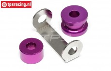 HPI87458 Engine spacer Purple Set