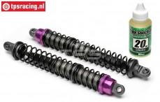 HPI87465 Shock rear Purple, 2 pcs.
