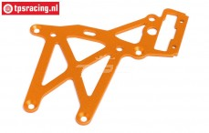 HPI87483 Rear Upper Plate Orange, 1 pc.