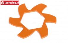 HPI87486 Brake disk Cooler Orange, 1 pc.