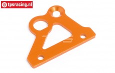HPI87487 Brake axle holder Orange, 1 pc.