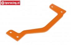 HPI87488 Rear Brace Orange, 1 pc.