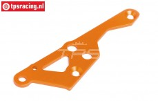 HPI87490 Engine mount brace right Orange, 1 pc.