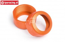 HPI87491 Shock Cap Orange Ø20-12 mm, 2 pcs.