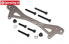 HPI87551 Alloy Rear Shock Plate A, 1 pc
