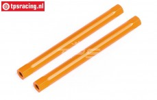 HPI87557 Spoiler joint Orange, 2 pcs