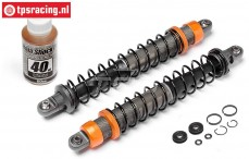 HPI87561 Shock front VVC/HD, Orange, 2 pcs.