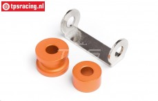 HPI87571 Engine spacer Orange, Set