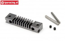 HPI87572 Brake Lining bracket HD Gun Metal, Set.