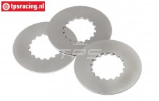 HPI87577 Steel lining Slipper clutch, 3 pcs.
