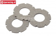 HPI87578 Lining Slipper clutch, 3 pcs.