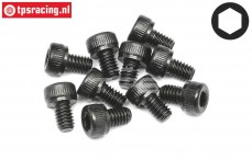 HPI94502 Pan-Head screw M4-L6 mm, 10 pcs.