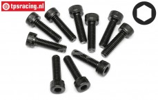 HPI94506 Pan-Head Screw M4-L15 mm, 10 St.