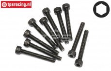HPI94512 Pan-Head Screw M4-L30 mm, 10 pcs.